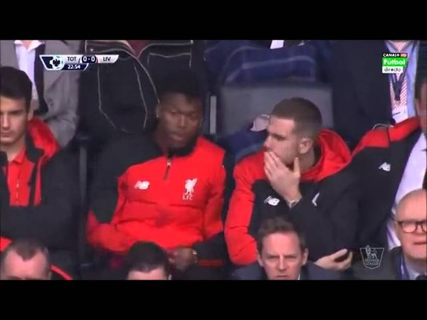 Daniel sturridge and Henderson moment
