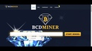BCDMiner New Cryptocurrency Bitcoin Diamond Earn Daily 2% 0.0001 BCD With 2 BH/s Without Invest