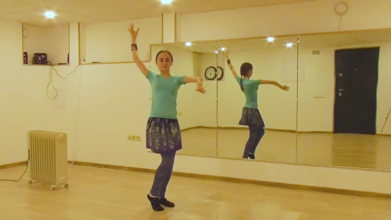 ATS® Fast Moves Double Bump Full Turn @ танцевальный трайбл словарь