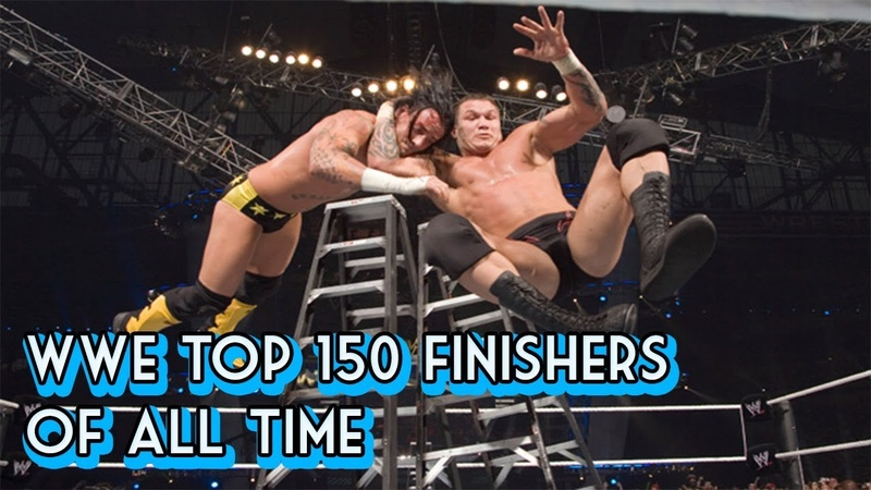 WWE Top 150 Finishers Of All Time