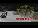 BEST OF YAMAHA YZF-R1 - Crossplane Yamaha R1 in Action - FULL HD CINEMATIC - Riding Yamaha R1 RN22