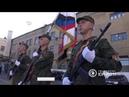Батальону «Спарта» присвоено звание «Гвардейский». 16.10.2018, Панорама