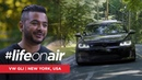 VW GLI on Air Suspension - LifeOnAir Interview in New York, USA