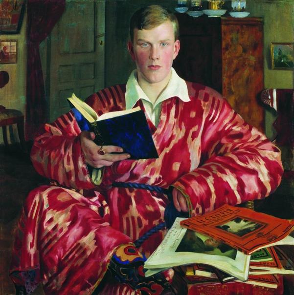 Борис Кустодиев (18781927) Мужской портрет.