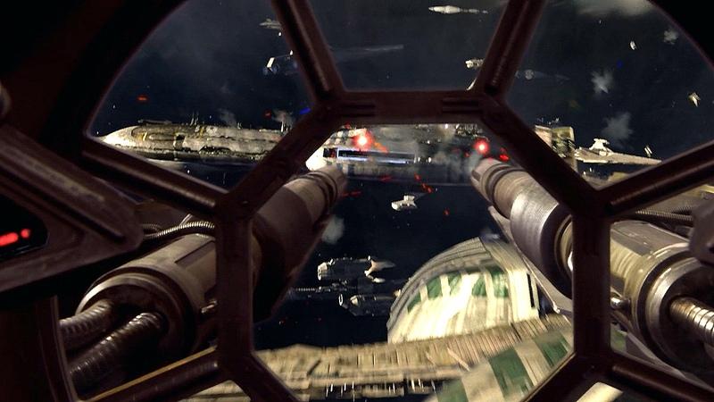 Энакин и Оби-Ван прорываются к звездолёту Гривуса - Звёздные войны. Эпизод 3 Месть ситхов