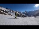 Скоростной спуск по трассе Эльбруса
