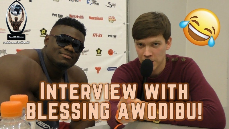 Funny interview with BLESSING AWODIBU / Веселое интервью с БЛЕССИНГОМ АВОДИБУ   Pro BB World