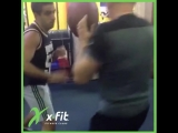 Бокс в X-Fit