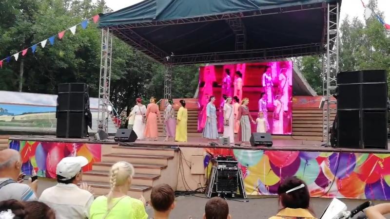 Этно-Мода-Псков 2018 Зеленый театр