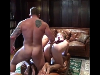 Daddy fucked and satisfacte two twink gay boys