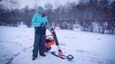 Тестдрайв электрического сноу скутера в парке