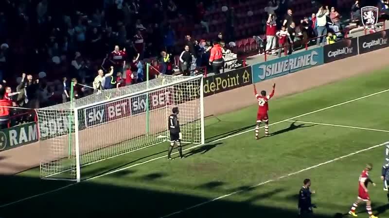 Boro's best four goals against Millwall at Riverside