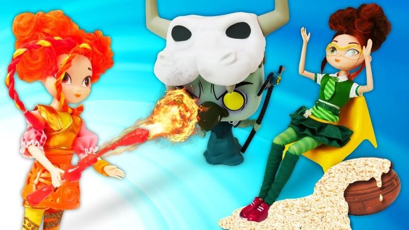 Сказочный Патруль и конкурс поваров Видео для детей с игрушками