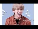 BTS V Boxy smile