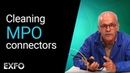 Inspecting and cleaning MPO connectors Fiber optic tutorial