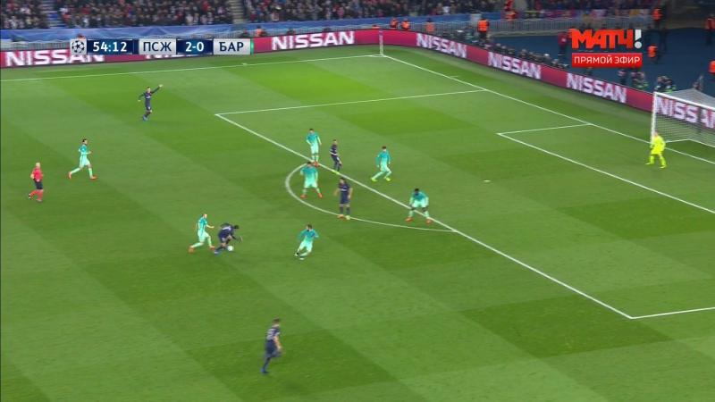 PSG-Barcelona Di Maria 3-0