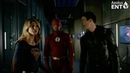 The Arrow Flash Show Up In Gotham City - The Arrow 7x9 - Elseworlds Crossover