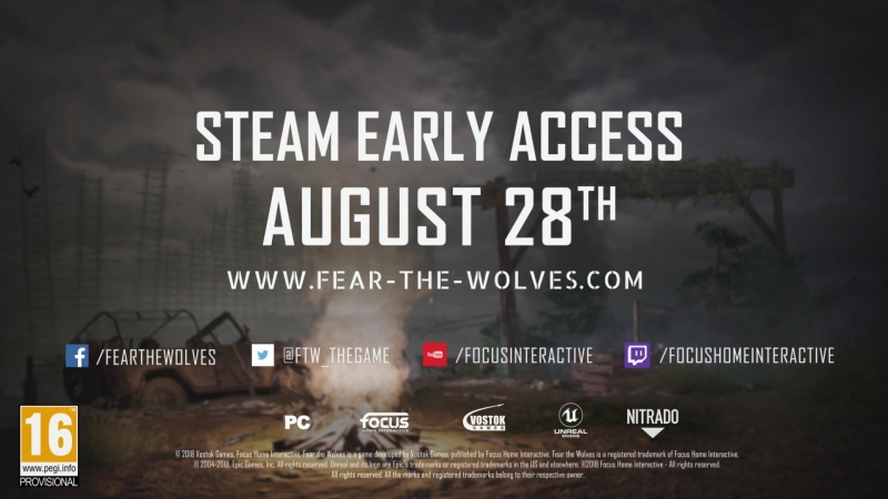 Fear the Wolves в Steam Early Acess