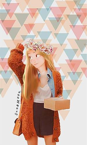 фото тату для девушек на руке абстракция