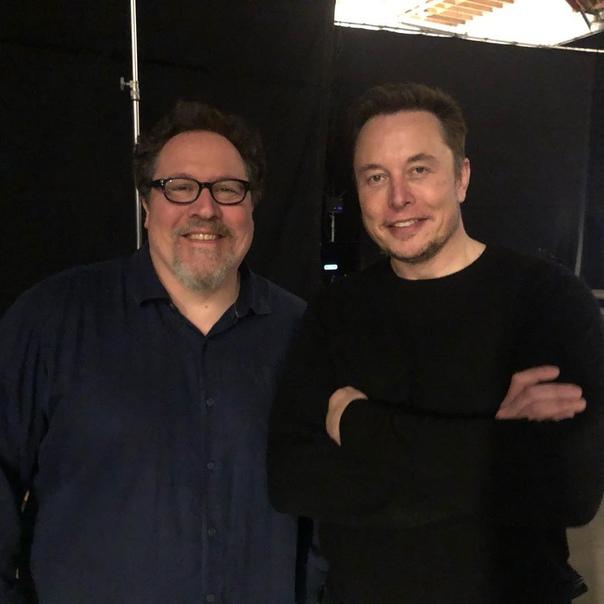 Илон Маск заглянул на съёмки сериала по «Звёздным войнам»