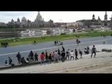 Dresden - Elbufer - 10.05.2018 - Himmelfahrt - Muslimische Asylanten gehen auf Hundebesitzer und Hunde los - Teil 1