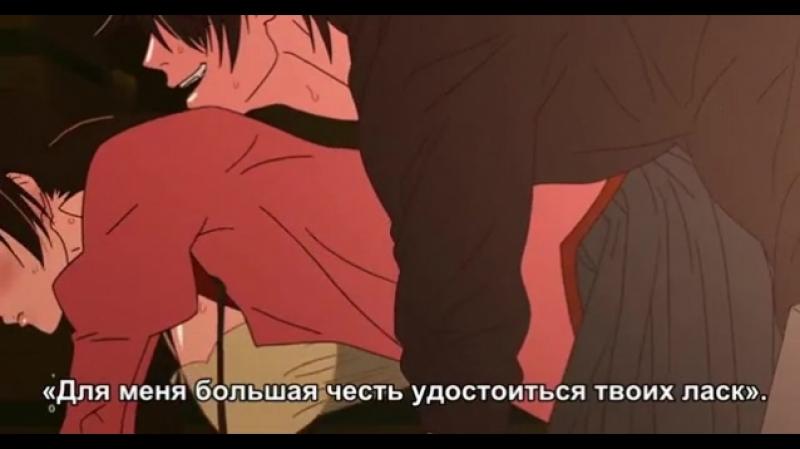 Момент из Movie 3 серии аниме Истории ран. Часть 3: Холодная кровь / Kizumonogatari III: Reiketsu-hen