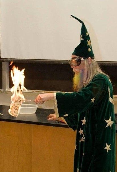 Правильный преподаватель химии в университете