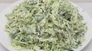 Уже НЕДЕЛЮ готовлю НА УЖИН Не Надоедает Вкусный и Легкий салат из капусты без майонеза
