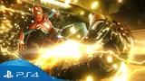 Marvel Человек-Паук Трейлер игрового процесса с E3 2018 PS4