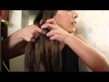 Коса из 4 прядей → Видео-урок + схема