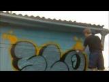 Граффити бомбинг(bubble style)