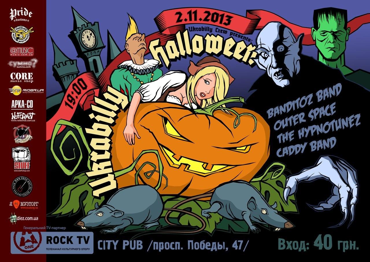 02.11 Ukrabilly Halloween 2013