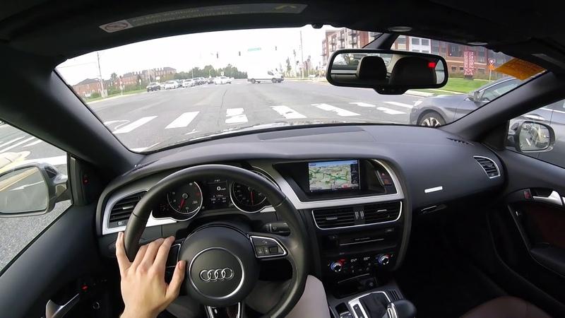 2015 Audi A5 2.0T POV Test Drive