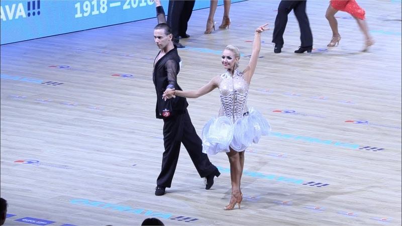 Armen Tsaturyan - Svetlana Gudyno RUS, Cha-Cha-Cha | WDSF World Championship Latin