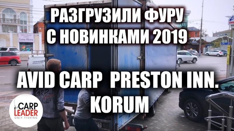 Avid Carp Preston Korum новинки 2019 Поступление в Карплидер