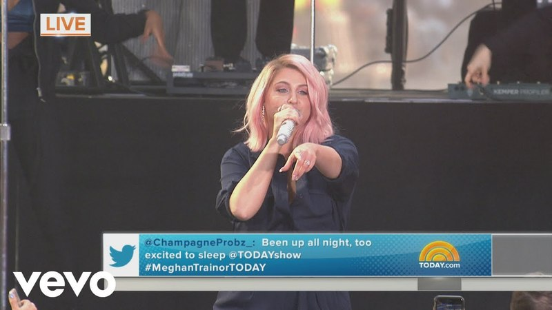 Meghan Trainor No Excuses Live on The Today Show
