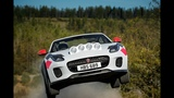 Как наваливает Jaguar F TYPE Rally Car