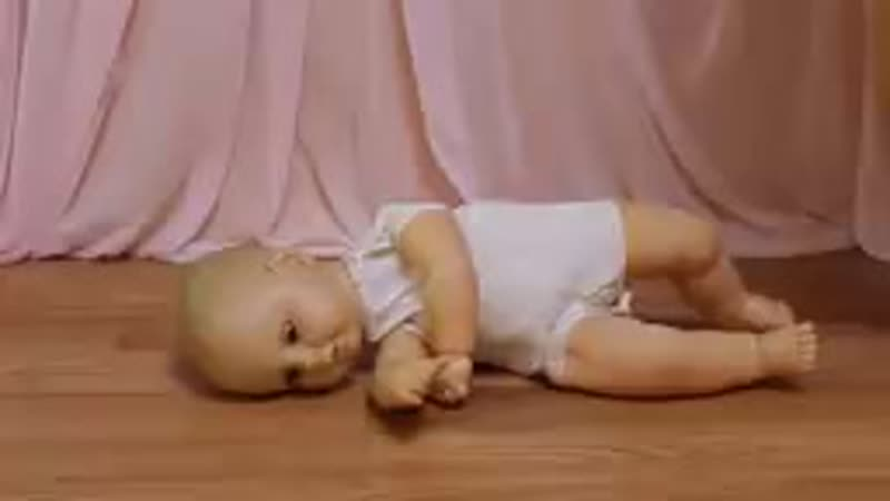 Barefoot Doll Crush Trample - YouTube.mp4