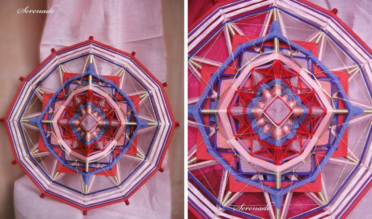 Плетение мандалы : мастер класс, схема и техника плетения