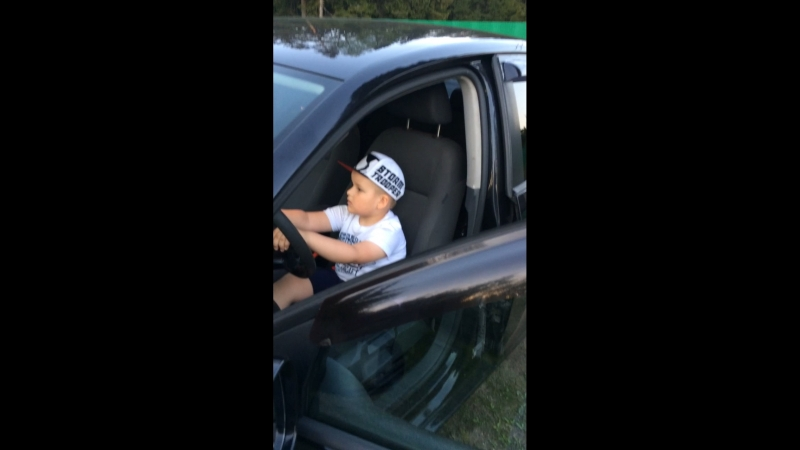 Мой маленький водитель ❤️🚘