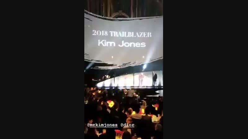 The Fashion Awards 2018. London. 10.12.2018