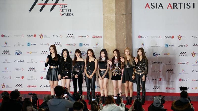 181128 구구단(Gugudan) 2018 AAA 레드카펫 직캠 [4K] (2018 Asia Artist Awards 레드카펫) 파라다이스시티 아트스페
