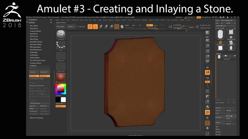 Amulet Chapter 3 - Creating and Inlaying a Gem Stone