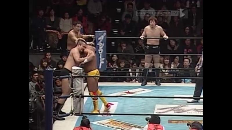 NJPW 12142011 Satoshi Kojima 20th Anniversary ~ RUSH!!