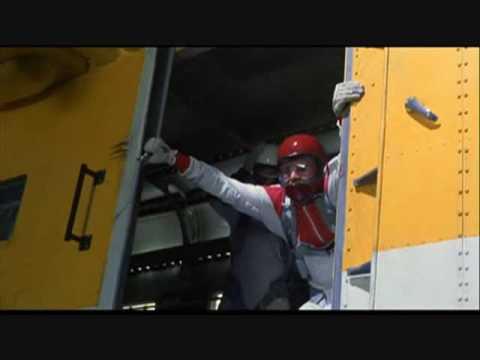 Mighty Morphin Power Ranger Movie: Sky Diving Opening Scene (Higher Ground)