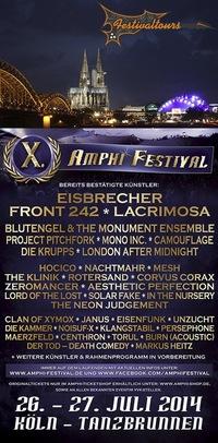Поездка на Amphi festival 2014 Festivaltours