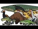 Prehistoric Life - Animated Size Comparison