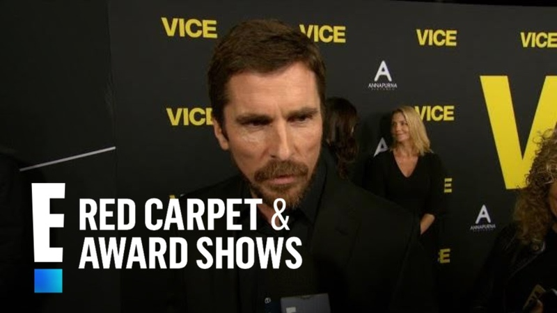 Christian Bale's Dick Cheney Transformation Was a Bloody Relief | E! Red Carpet Award Shows