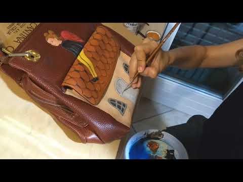 Handpaintedbags diy borse dipinte