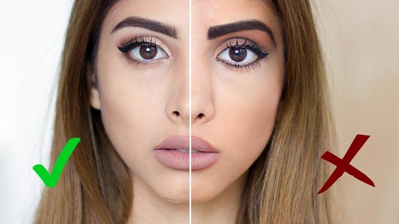 Ошибки в макияжеКак НЕ стоит краситься| Makeup Dos Donts